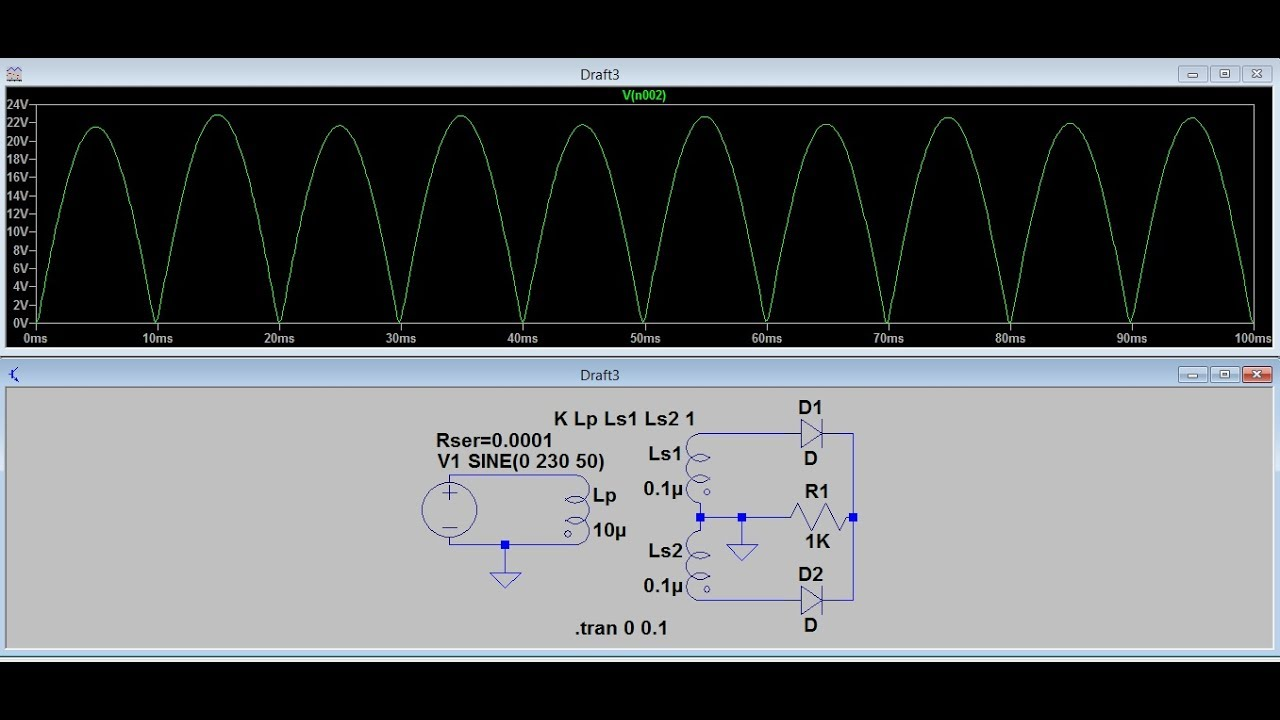 Circuit Analysis Full Wave Bridge Rectifier With Capacitor What Is