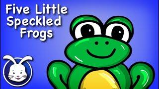 Five Little Speckled Frogs Song | Nursery Rhymes For Baby Kindergarten & PreSchool
