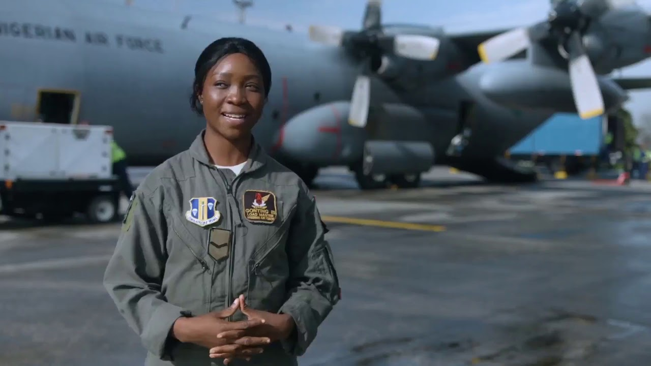 NIGERIAN AIR FORCE WOMEN OF WAR
