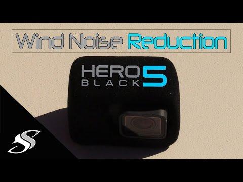 HERO 5 GoPro Wind Noise Reduction - Hack!