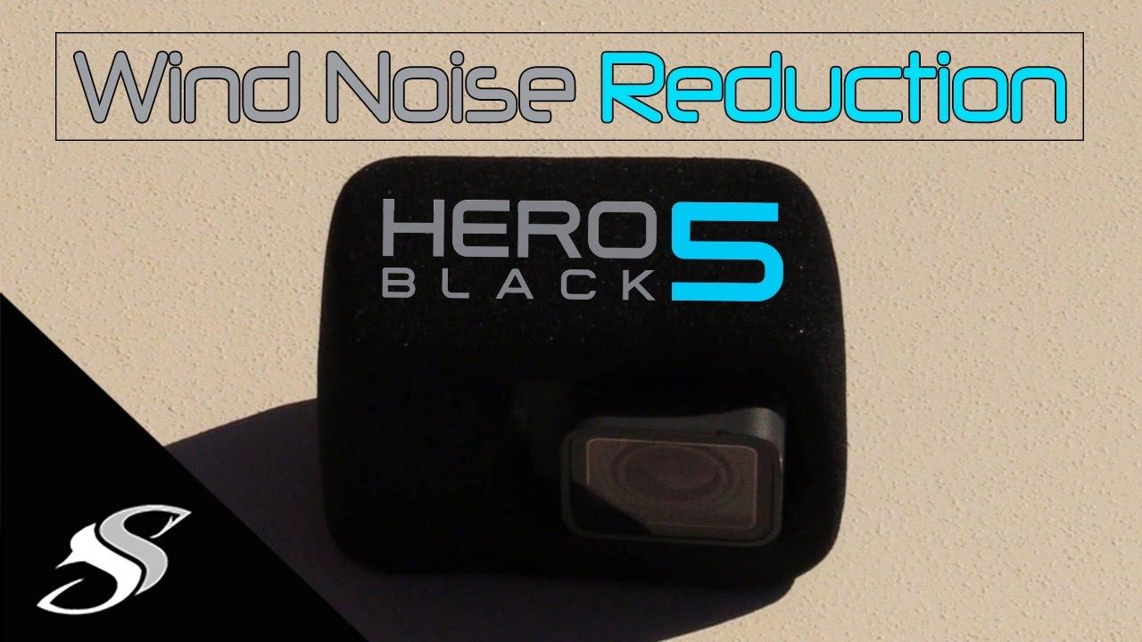 GoPro Hero3+Hero4 Black Foam Windscreen Windslayer Wind Slayer Noise Reduction