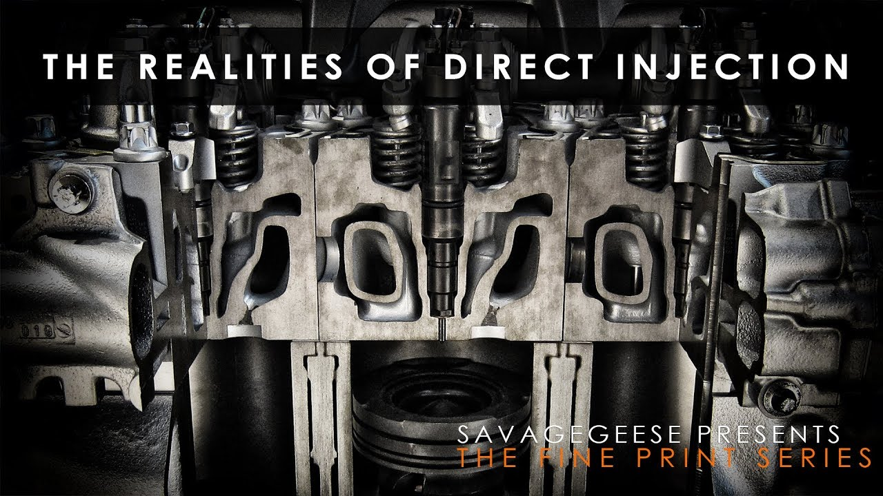 Direct Injection Problems And Solutions The Fine Print Youtube Injected Engine Diagram