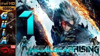 Metal Gear Rising: Revengeance Gameplay Walkthrough - Español Parte 1 |Prologo Capitulo 1 Archivo R-00| Walkthrough 1080p Pro Gameplay