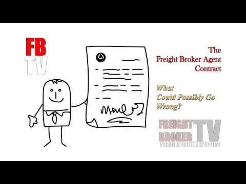 The Freight Broker Agent Contract