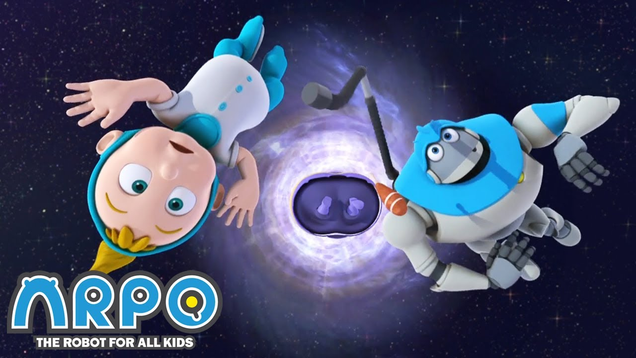Space Adventures - Arpo the Robot |  Funny Cartoons for Kids | Arpo and Daniel | Kids Animation