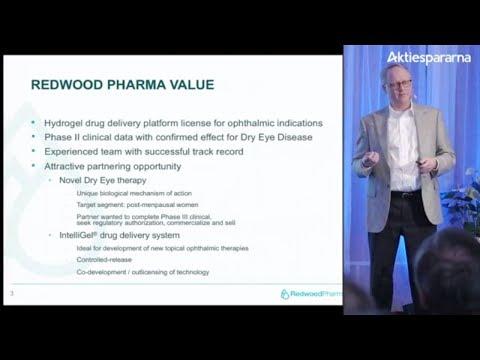 Aktiedagen Stockholm 5 mars – Redwood Pharma