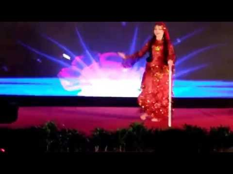 "Anna Semenova - Opening Gala Show at ""Amar El Zaman"" Beijing China september 2016"