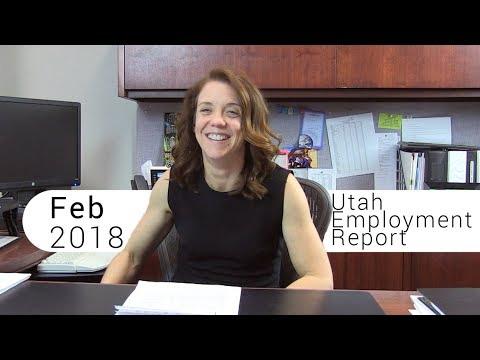 Utah Employment Report February 2018