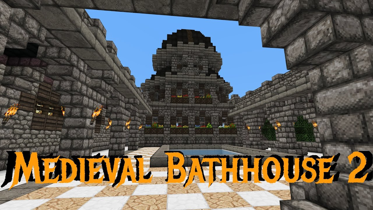 Minecraft Gundahar Together Medieval Bathhouse 2 Youtube