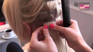 Ленточное наращивание волос One Touch