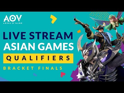 ASIAN GAMES Qualifiers 26 Mei 2018 - Garena AOV (Arena Of Valor)