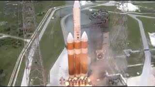 Delta IV Heavy blasts off with massive Spy Satellite