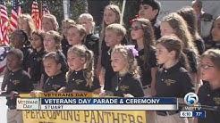 Veteran Day parade & ceremony