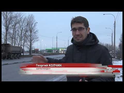 На тросовом ограждении на окружной дороге в Ярославле пострадали несколько машин
