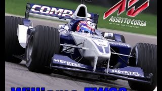 Assetto Corsa - Williams FW23 F1 2001 - Add-on T300 - Gameplay ITA - Pc
