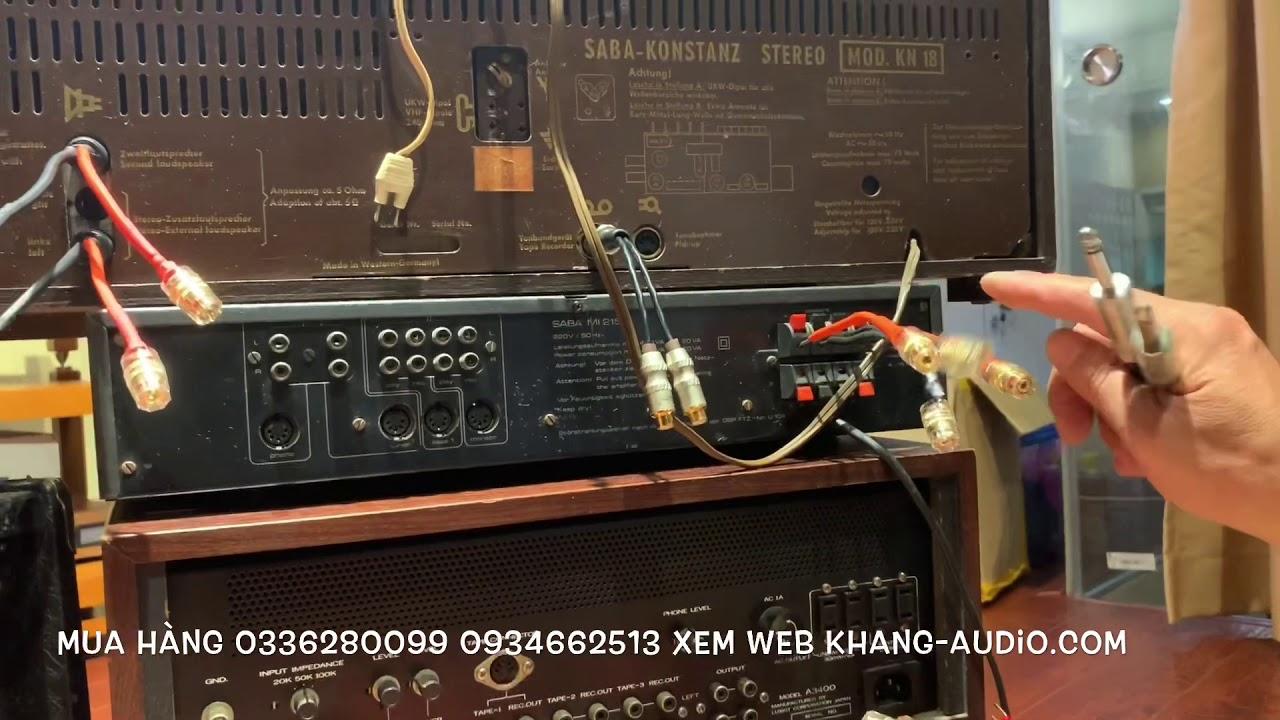 Bộ Chuyển Đổi Các Loại Đầu Giắc Khang Audio 0336380099 0934662513 (Hiện Còn Hàng)