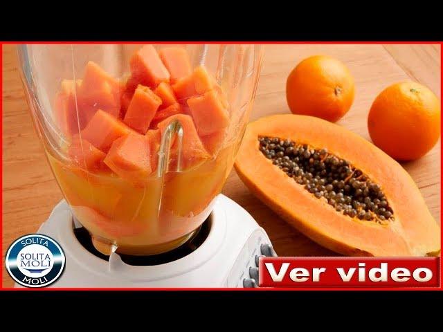 Batido de papaya bajar de peso