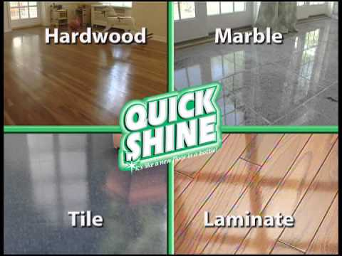 Quick Shine Multi-Surface Floor Finish, 64-Ounce Bottle by Holloway House Inc.