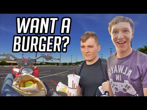 Giving Away McDonald's Challenge!
