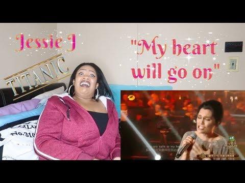 "Jessie J-""My heart will go on""ReactionSinger 2018MY NECK WENT STIFF😱😭"