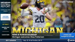 Michigan Football Report - Jim Harbaugh's 2018 Recruiting Class, Shea Patterson latest, and more