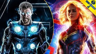 Is Captain Marvel Really Going to be the Strongest Avenger?