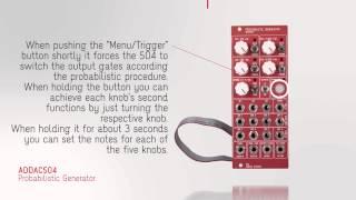 ADDAC504 Probabilistic Generator - Part 1