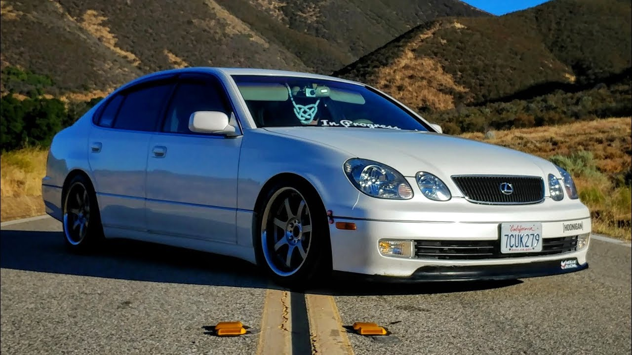 hight resolution of modified 1998 lexus gs400 one take