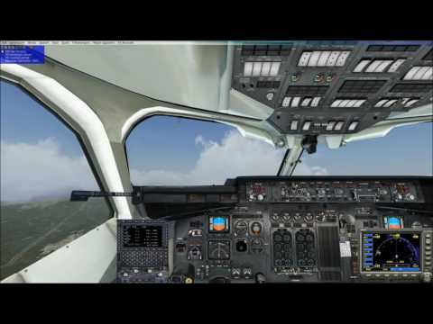 fsx world tour 8th step regional  flight from istanbul to  antalya BAe Avro RJ100