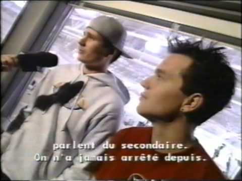 Rare blink-182 interview from Fax Musique Plus 1999