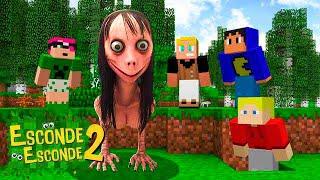 Minecraft: MOMO PROCURANDO YOUTUBERS! (Esconde-Esconde 2)