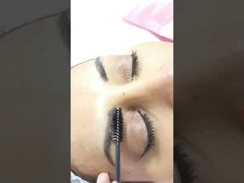 Healed Microblading Eyebrows after 1 session by El Truchan @ Perfect Definition