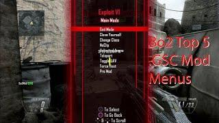 Top 5 [Bo2/1.19] .GSC Mod Menus (XBOX, PC & Ps3)