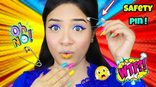 Testing Out *Viral* Makeup Hacks by 5 Minute Crafts ! *SHOCKING Results* | Nilanjana Dhar