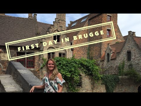 A Day IN BRUGES (BELGIUM) Travel Vlog!