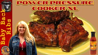 Baby Back Ribs in the Power Pressure Cooker