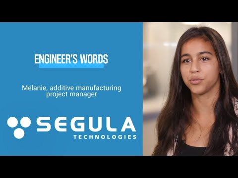 [Engineer's Words] Mélanie, 3D Printing project manager