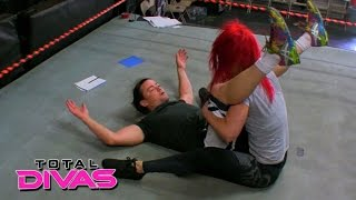 Eva Marie Continues Her Training With Brian Kendrick: Total Divas Preview Clip: August 4, 2015