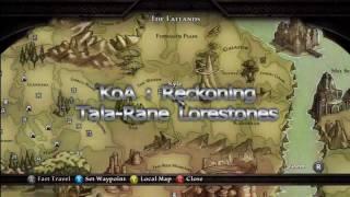 KoA: Reckoning Tala-Rane Lorestones