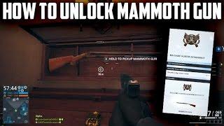 How To Unlock Mammoth Gun Betrayal DLC Big Game Hunter Assignment Battlefield Hardline