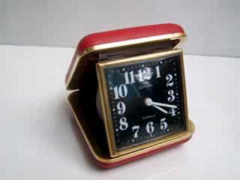 Vintage 2 JEWELS Alarm Clock