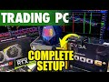 How To Set Up a 6 Monitor Trade Station - YouTube