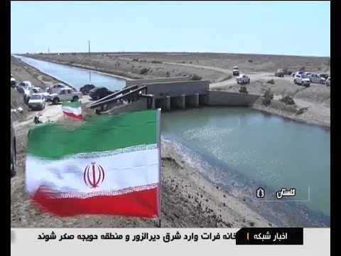 Iran Shrimp farming in desert, Gomishan district پرورش ميگو در بيابان بخش گميشان گلستان ايران
