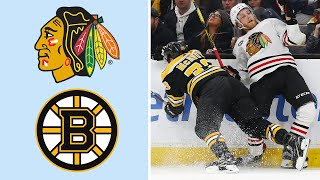 Chicago Blackhawks vs. Boston Bruins | EXTENDED HIGHLIGHTS | 2/12/19 | NBC Sports