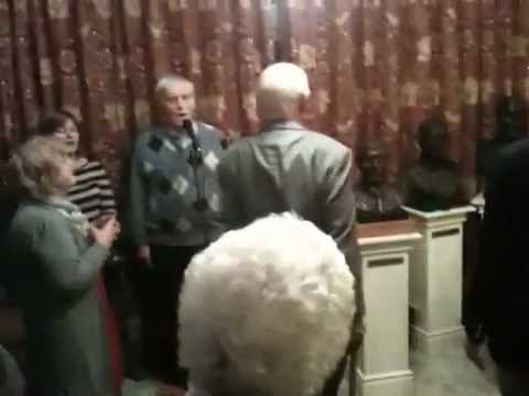 Bruhenny TV: P J O'Driscoll sings the National Anthem at the Sean Clarach Night in Booneys