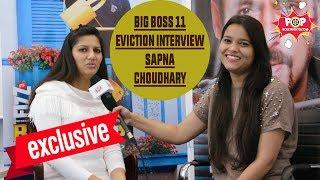 Big Boss 11   Eviction Interview   Sapna Choudhary   Evicted