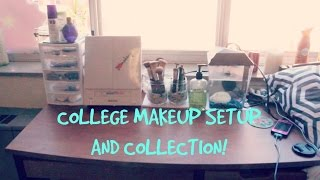 College Makeup Collection: 2014 | Makeupkatie95 Thumbnail