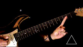 """How to play """"Face of the Earth"""" Silverstein (Guitars Tutorial)"""