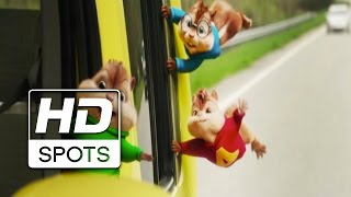 Baixar Alvin e Os Esquilos: Na Estrada | Spot Oficial 3 | Dublado HD