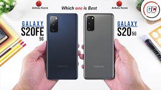 Samsung Galaxy S20 FE 5G vs Samsung Galaxy S20 5G || Full Comparison - Which one is Best